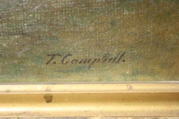 Lot 163: Large and Important East Tennessee Landscape by Thomas Campbell