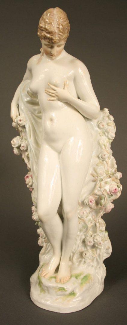 Important Meissen female nude porcelain by Walter Schott.