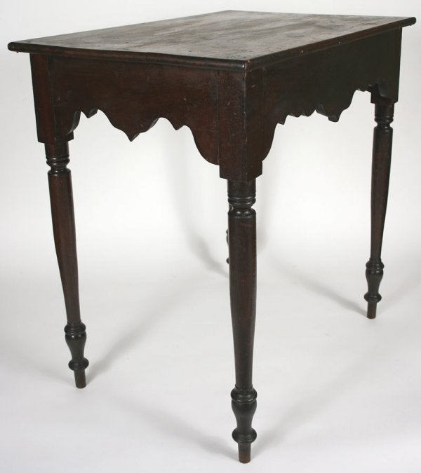 Lot 33: Wythe County, Virginia side table