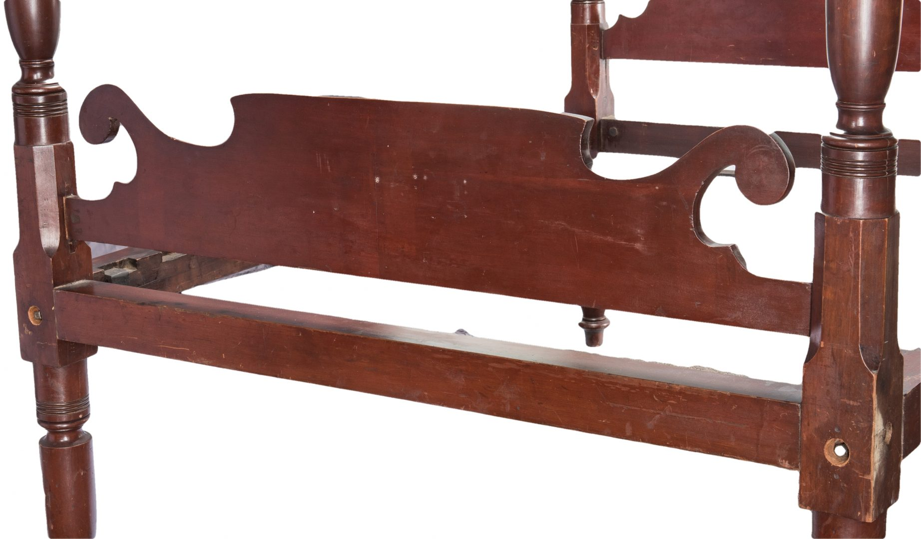 Lot 399: Kentucky Cherry Sheraton Bed