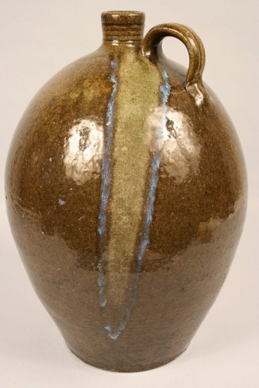 Lot 201: Daniel Hartsoe North Carolina pottery jug