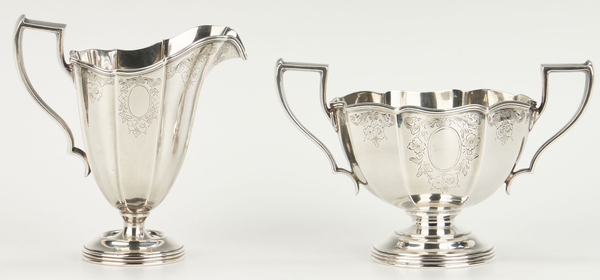 Lot 798: Meriden Sterling 3 Pc. Coffee Service