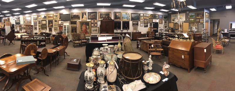 Gallery Setup for Auction