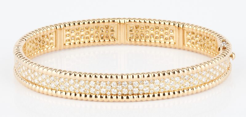 18K Van Cleef & Arpels Bracelet w/ Diamonds, Sold @ Case for $12,000