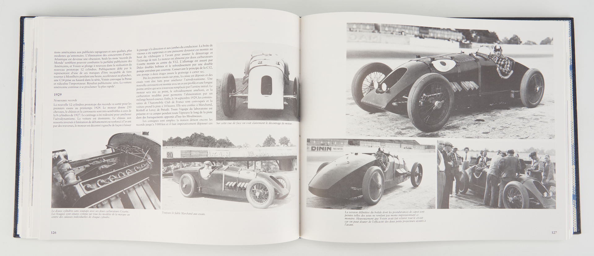 Lot 780: 2 First Eds: Automobiles Voisin & History of English Racing Automobiles