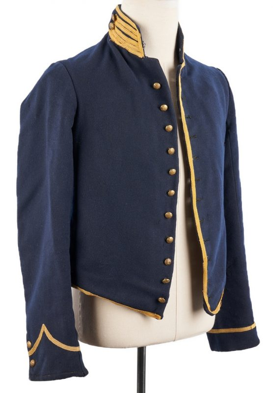Lot 712: U.S. Union Cincinnati Arsenal Cavalry Jacket, Ohio Related