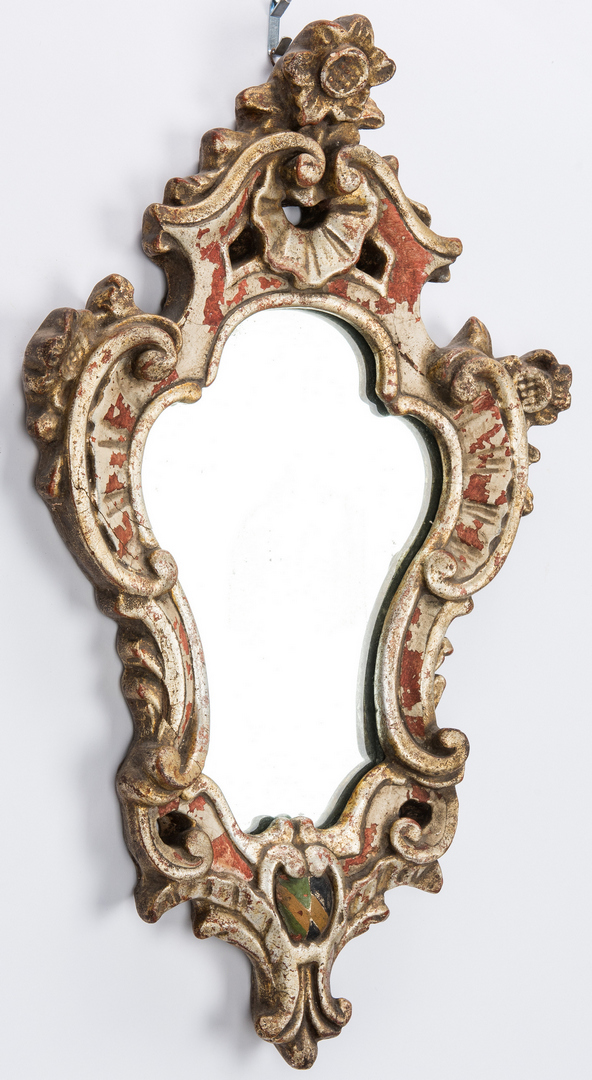 Lot 160: 3 Baroque Style Mirrors