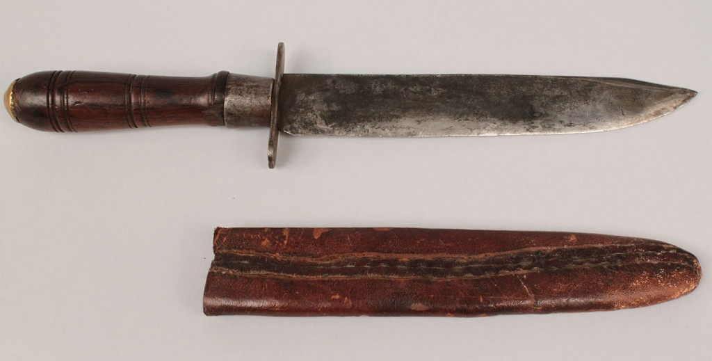 Lot 18: East Tennessee Bowie Knife