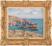 Henry Moret Landscape Painting Sold $132,000